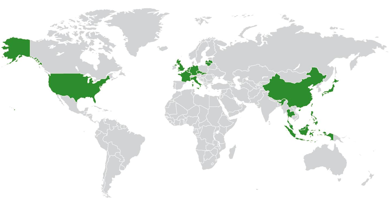 EnviTec weltweit