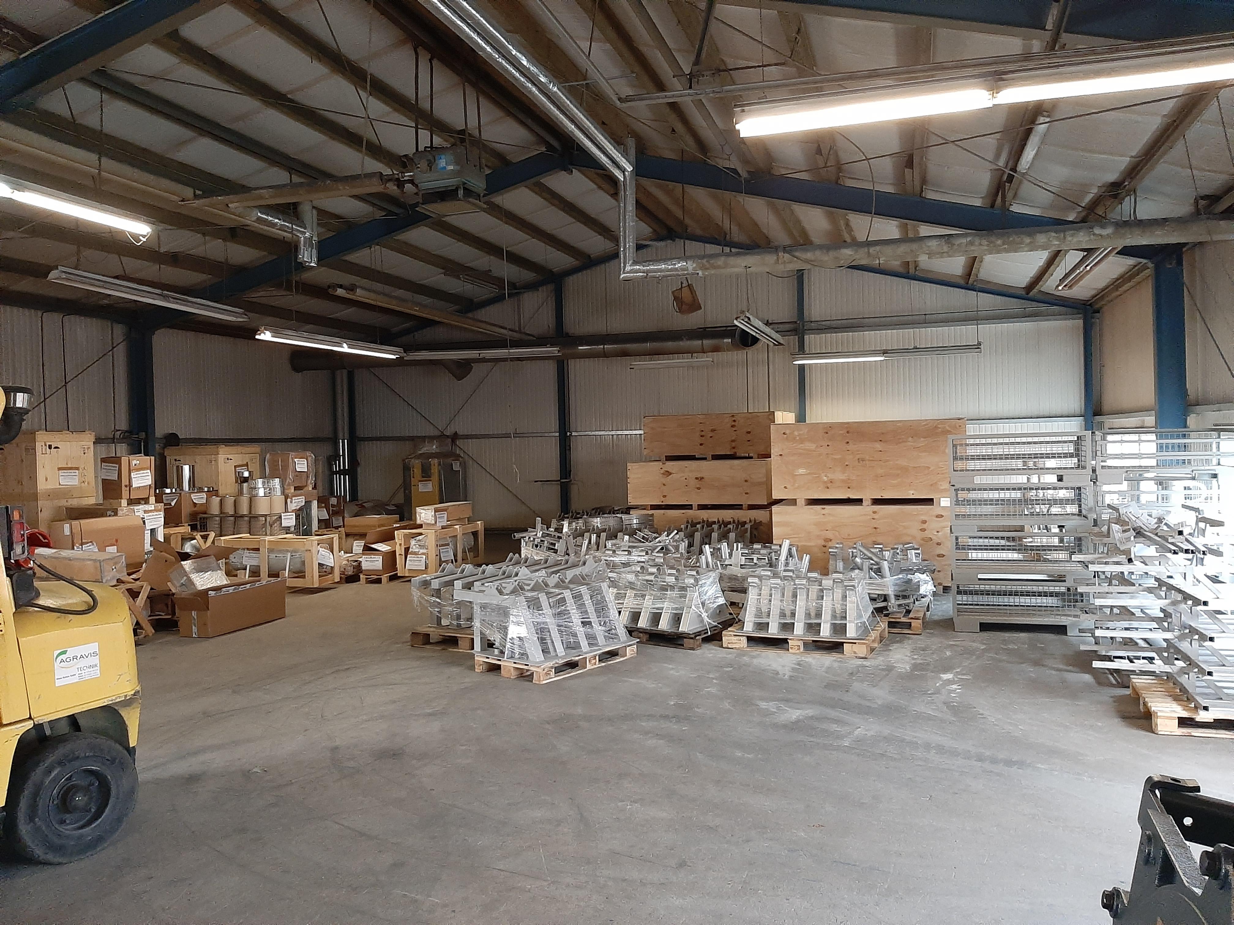 Sowohl die Fläche für die Fertigung als auch die Lagerfläche wurde am Standort Saerbeck erweitert