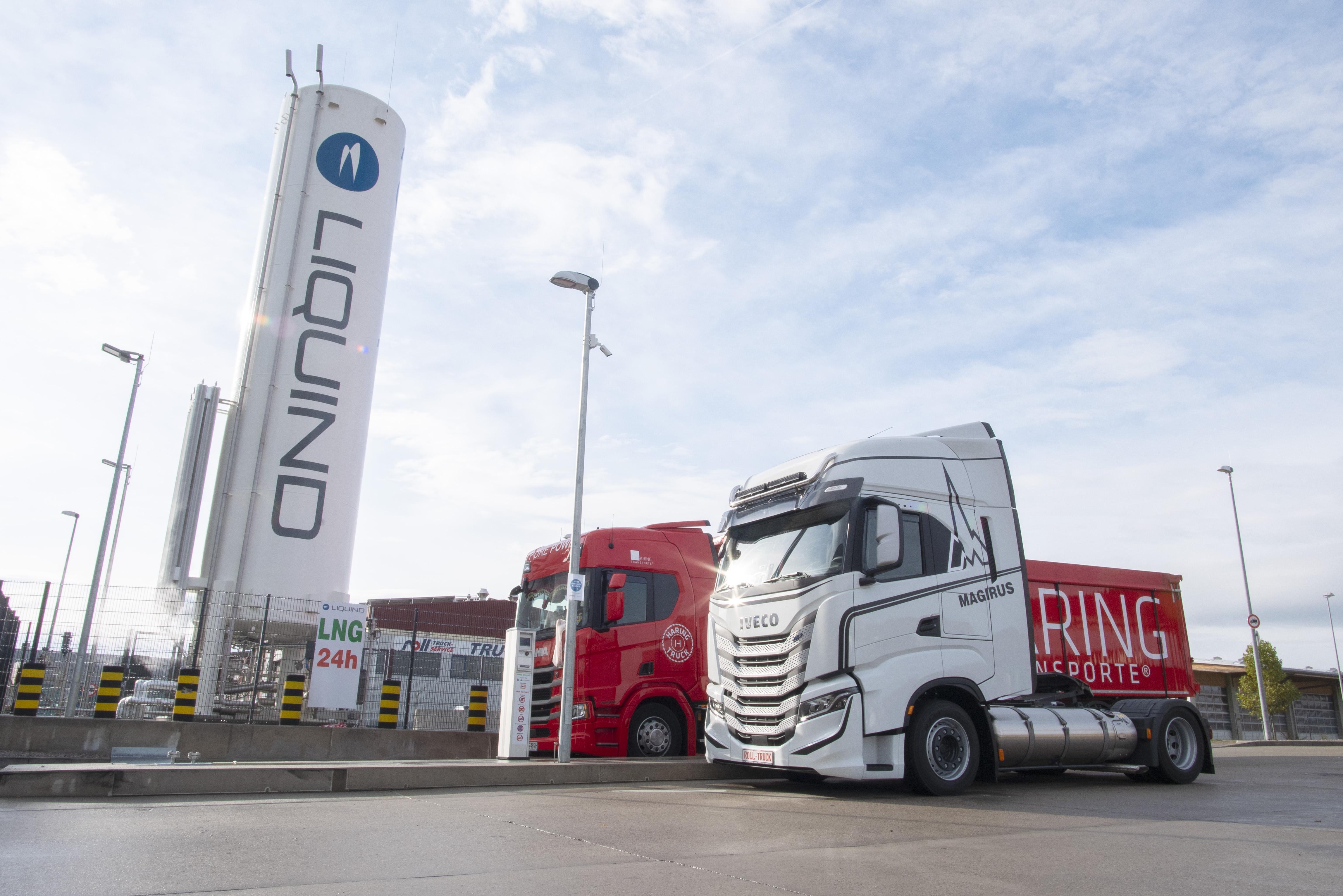 LIQUIND 24/7 und EnviTec Biogas unterschreiben Liefervertrag für Bio-LNG (Foto: LIQUIND 24/7 GmbH)