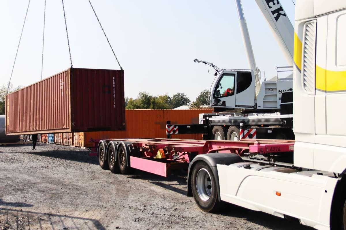 22 Container mit EnviTec Biogas Technologie werden in ca. sechs Wochen in Lankao eintreffen.