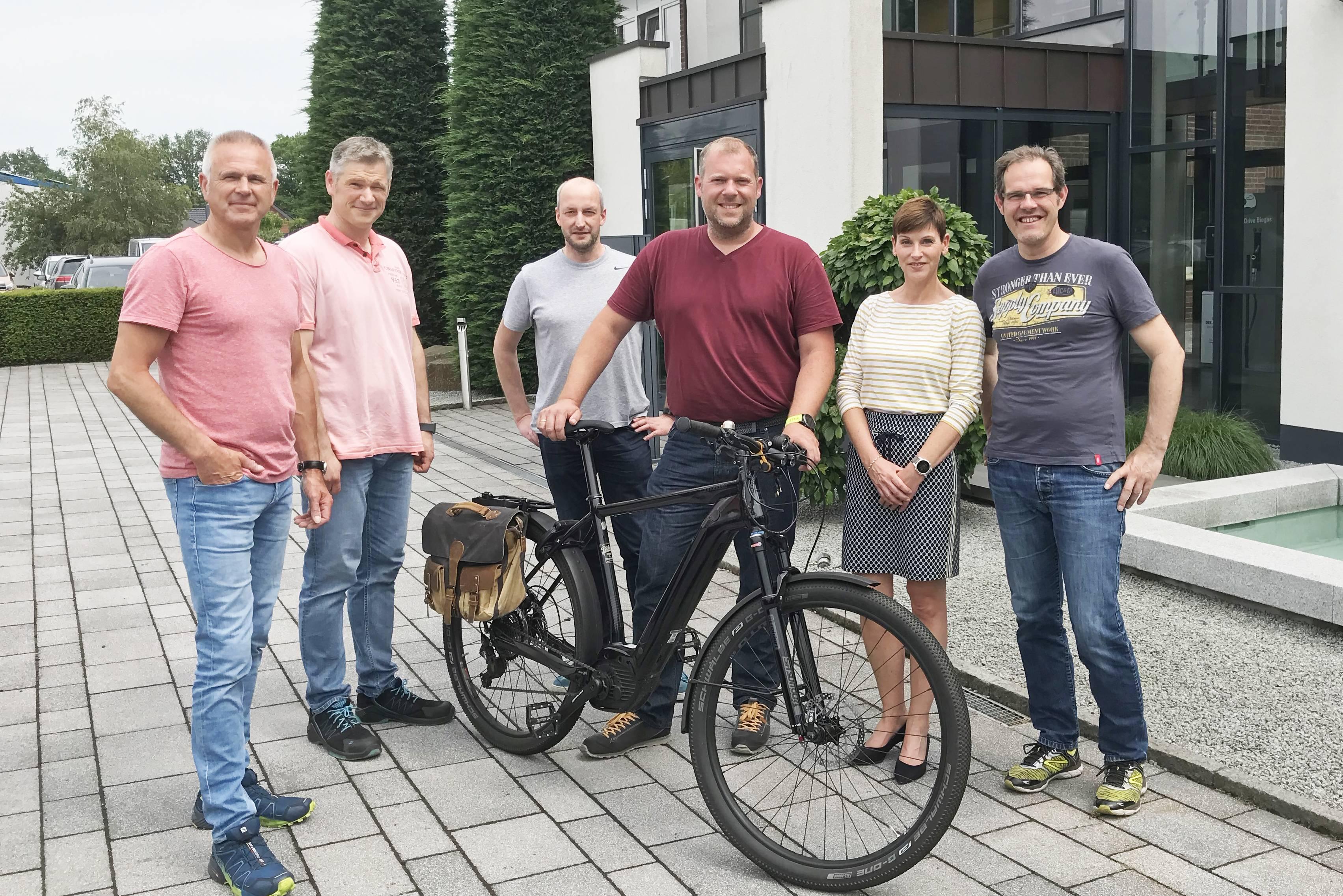 Bereits 70 Mitarbeiterinnen und Mitarbeiter nutzen das Angebot, Räder über EnviTec günstig zu beziehen