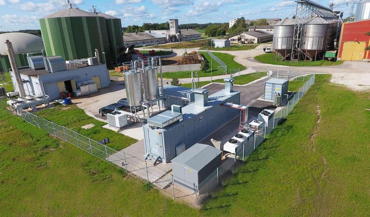 Quick and clean - nur sechs Monate nach Auftragseingang, produzieren die EnviThan Biogasaufbereitungsanlagen in Estland grünen Kraftstoff für den Transportsektor.