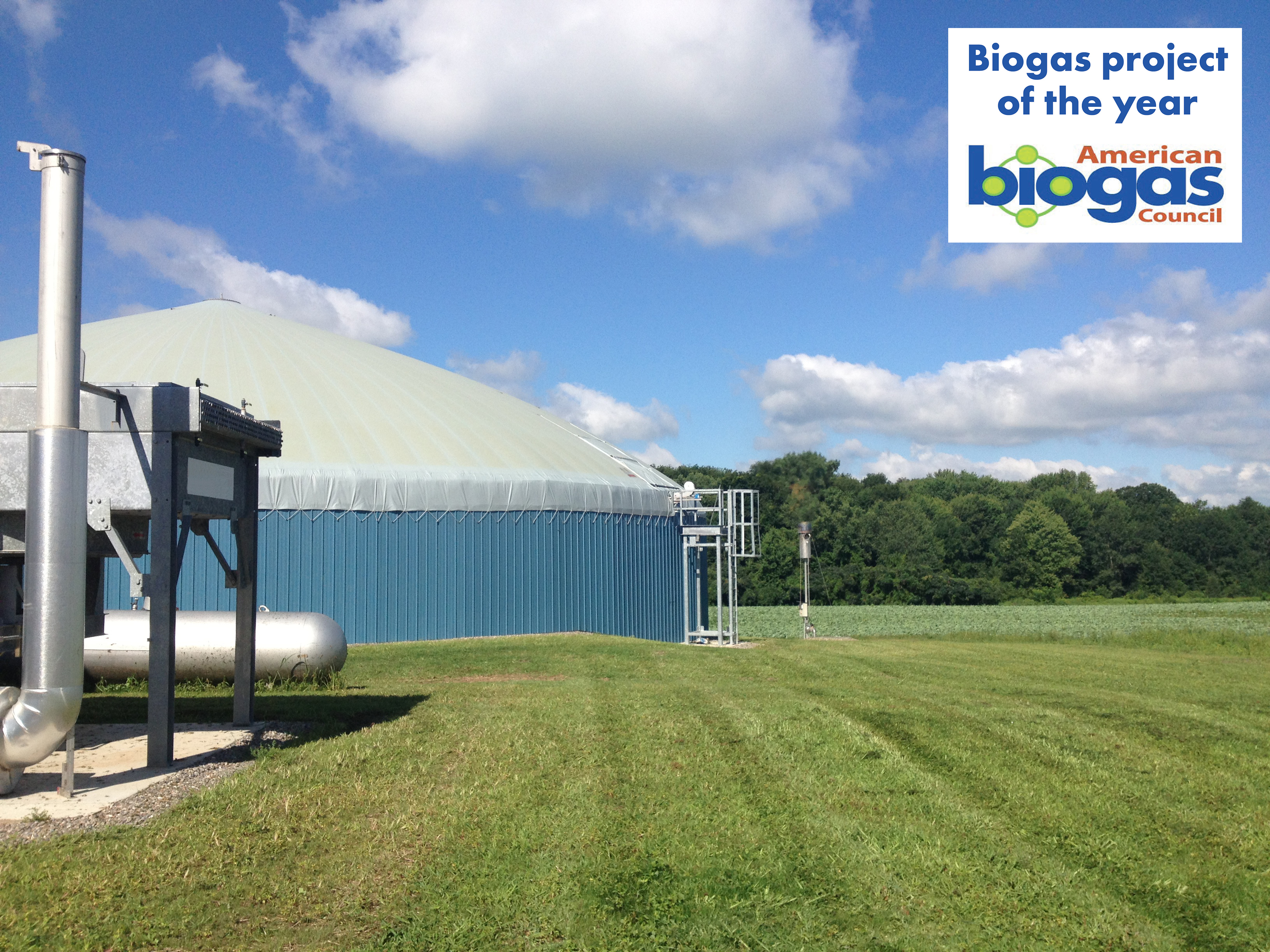 Preisgekrönte Biogasanlage in den USA