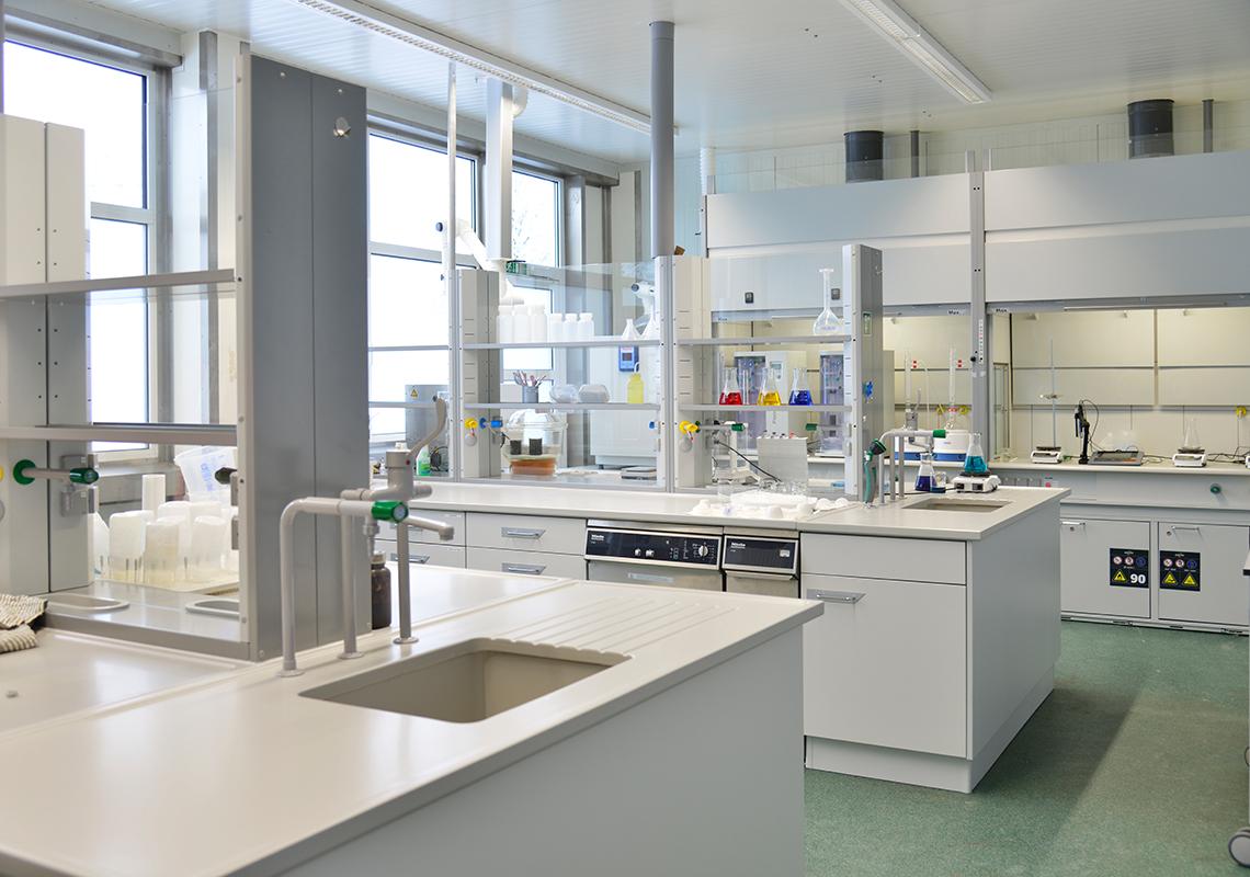 Das EnviTec Labor in Lohne