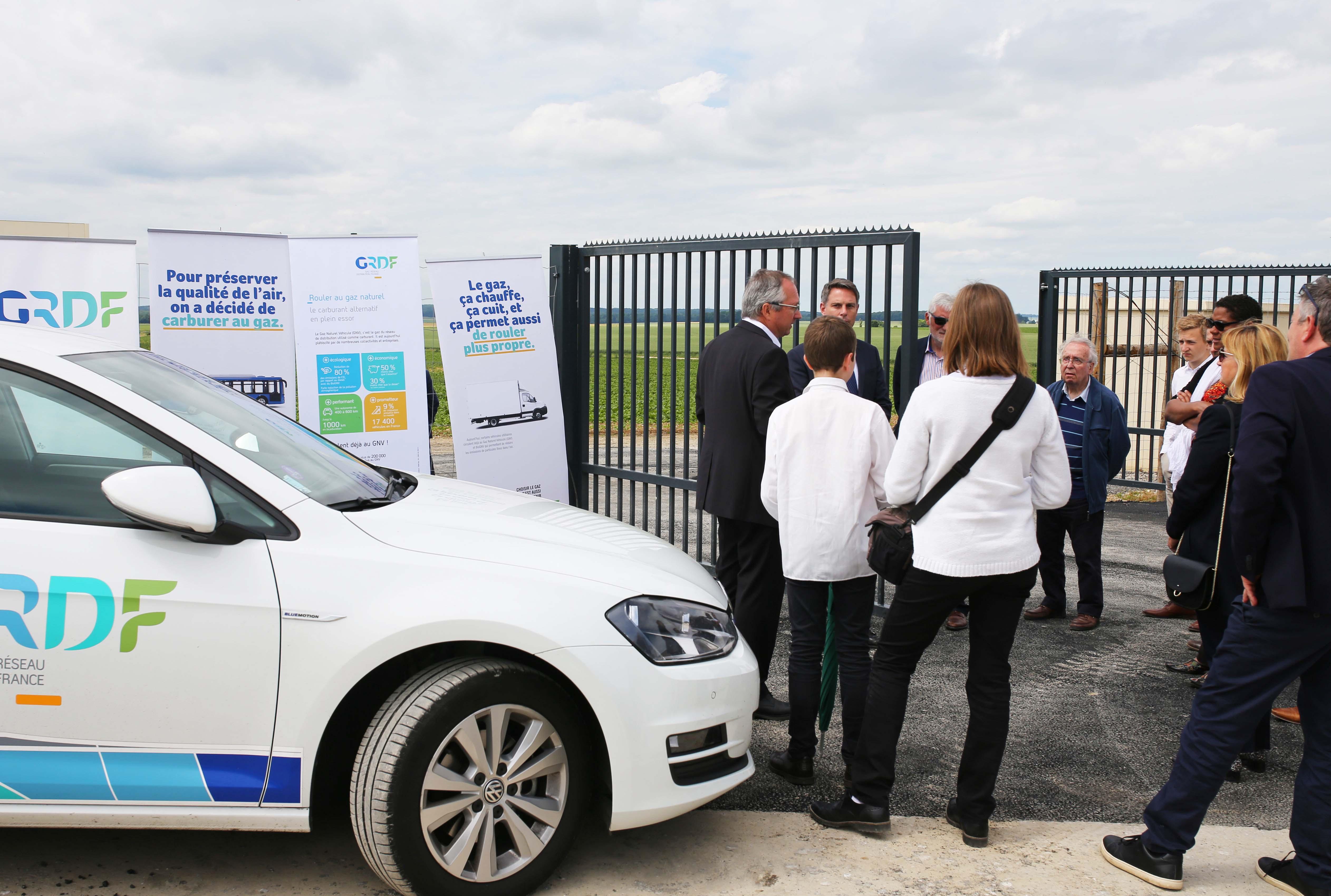 Biomethan kommt als CO2-neutraler Kraftstoff in handelsüblichen CNG Fahrzeugen zum Einsatz.