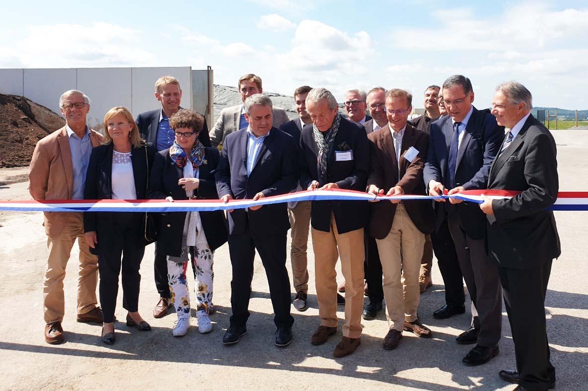 Vertreter aus Politik, Banken und des Netzbetreibers folgten der Einladung der SAS Ferti Oise.