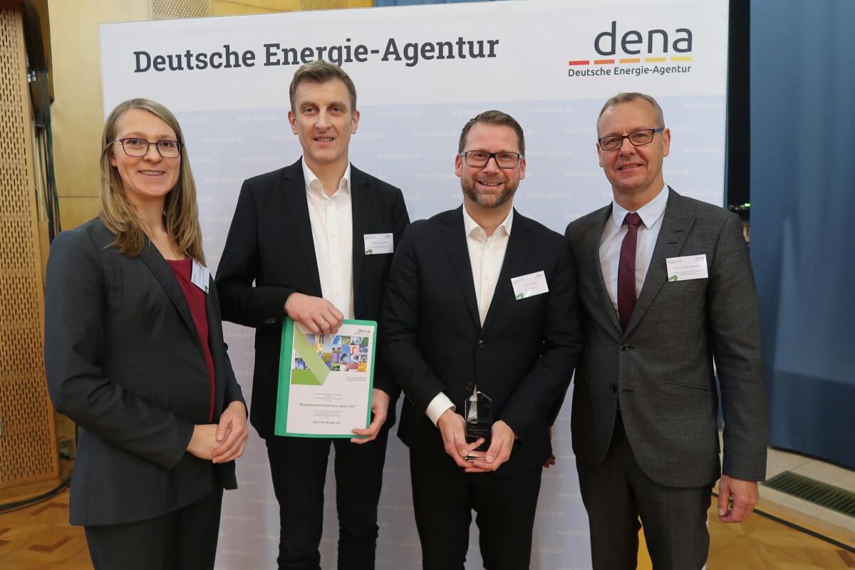 Drive Biogas erhält Auszeichnung