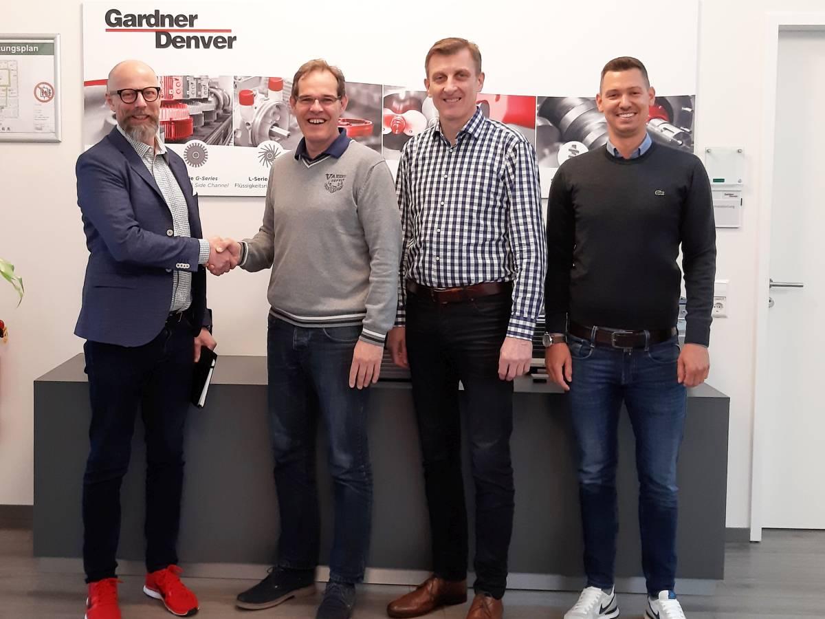 EnviTec Service vermeldet neuen Kooperationsvertrag mit Gardner Denver/ Produktbereich WITTIG
